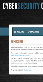 CySCA CySCA2014-in-a-Box screenshot