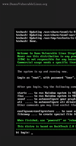 Damn Vulnerable Linux (DVL) 1.4 (Strychnine & E605) screenshot