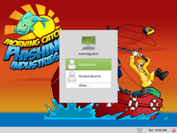 Morning Catch Phishing Industries screenshot