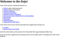 Web Security Dojo 2 screenshot