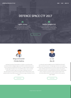 Defence Space CTF 2017 screenshot
