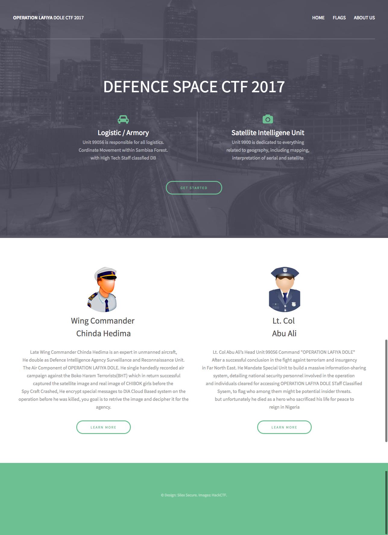 Defence Space CTF: 2017 ~ VulnHub