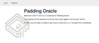 Pentester Lab Padding Oracle screenshot