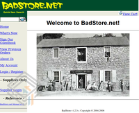 Badstore 1.2.3 screenshot