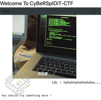 CyberSploit 1 screenshot