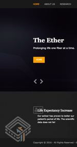 The Ether EvilScience (v1.0.1) screenshot