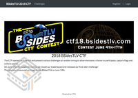 BSidesTLV 2018 CTF screenshot