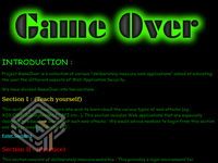 GameOver 1 screenshot