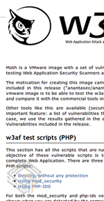 Moth 0.6 screenshot