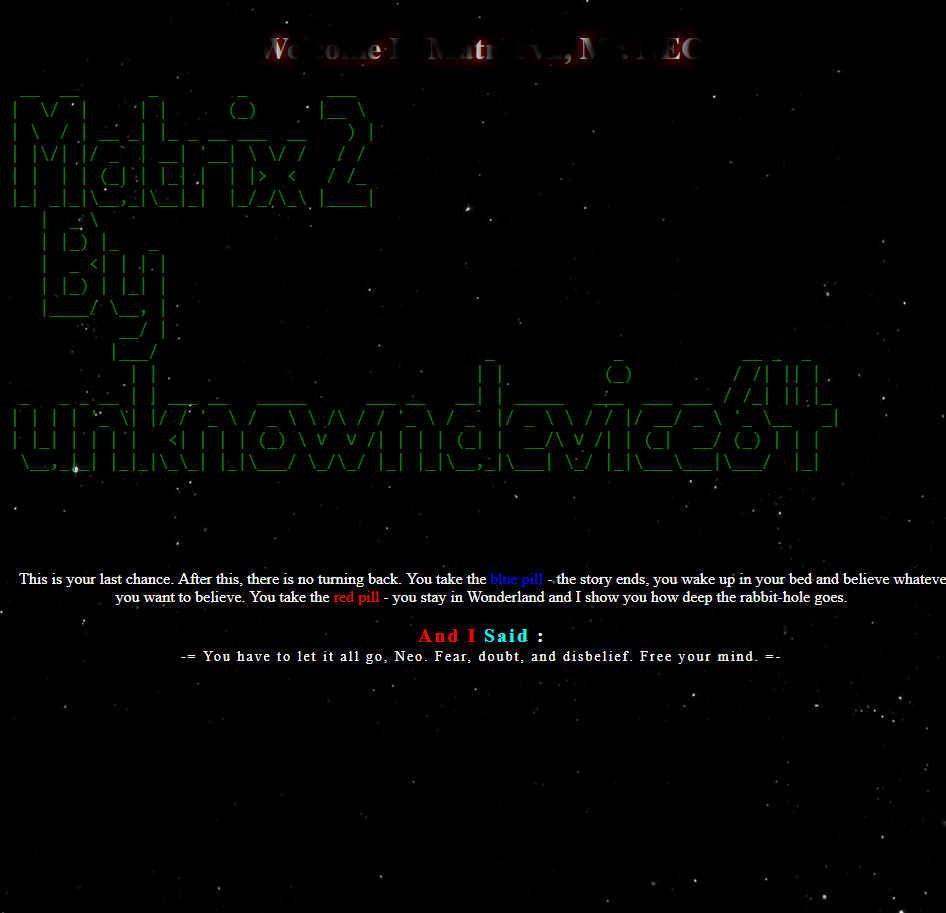 Matrix: 2 ~ VulnHub