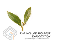 Pentester Lab PHP Include And Post Exploitation screenshot